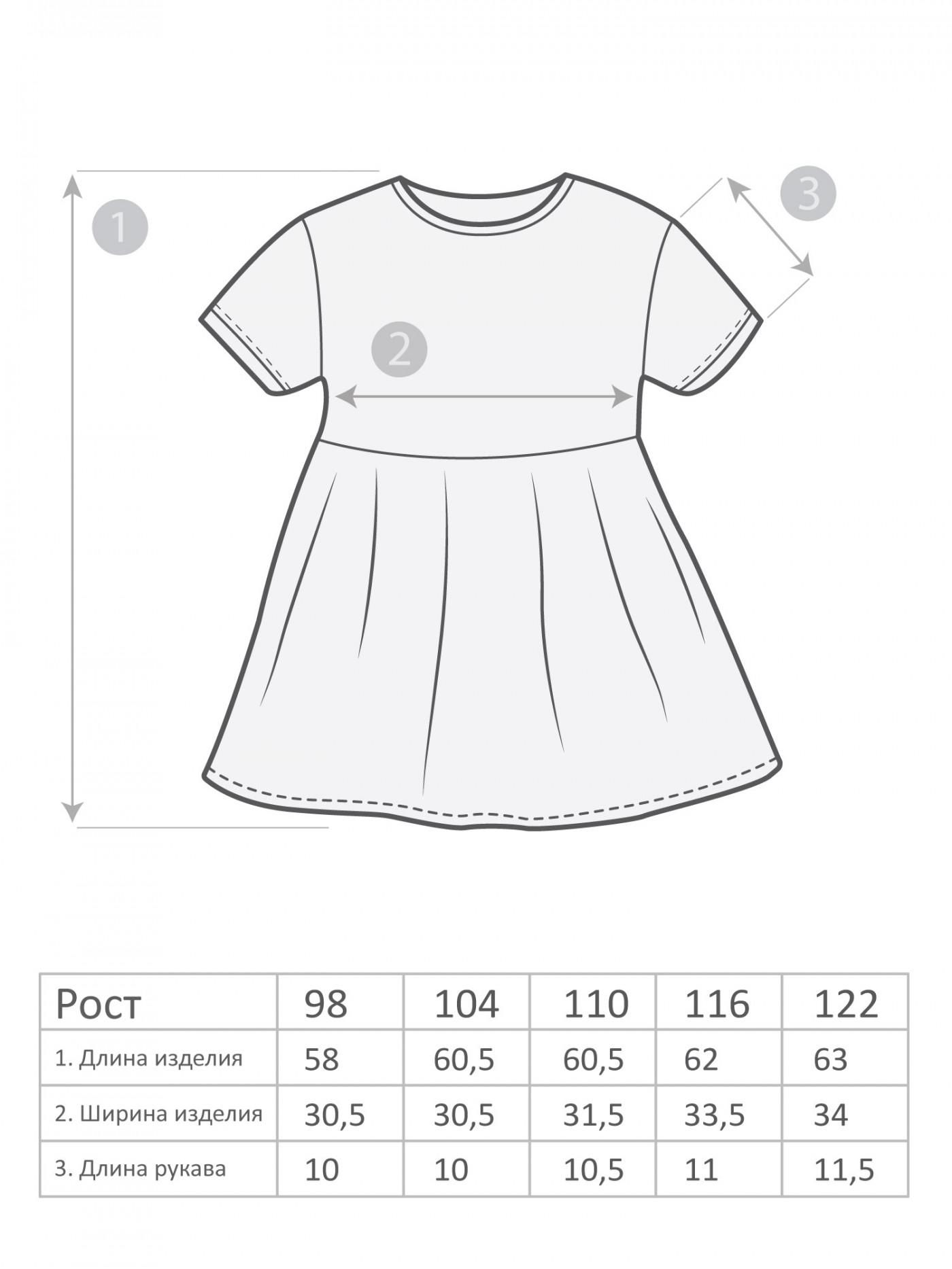 М-1713 Платье 104-128 5шт
