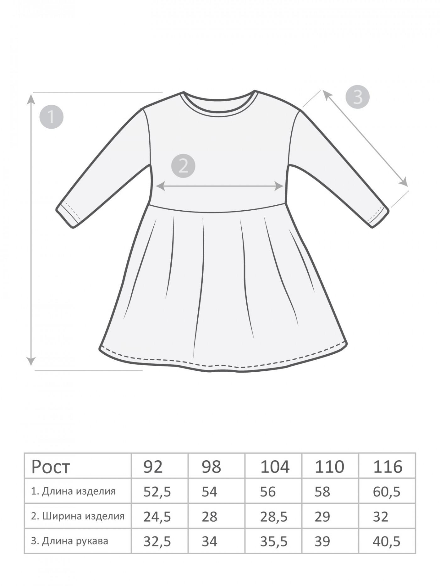 М-1720 Платье 92-116 5шт